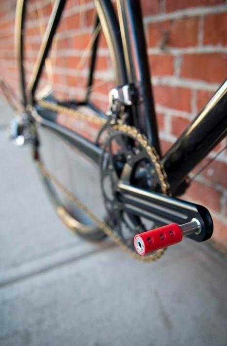Transmisia celei mai ușoare biciclete din lume